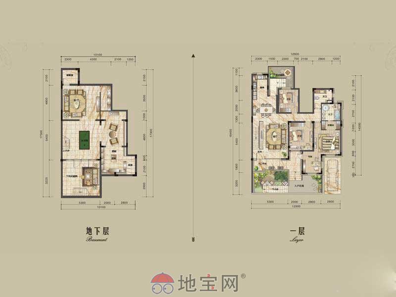 本人房东绿地香颂别墅三层330平,学区房满五唯一_39