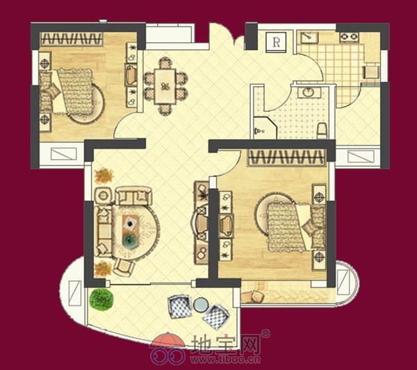 新建区红谷峰尚步行至红谷滩万达约16分钟2室2厅_10