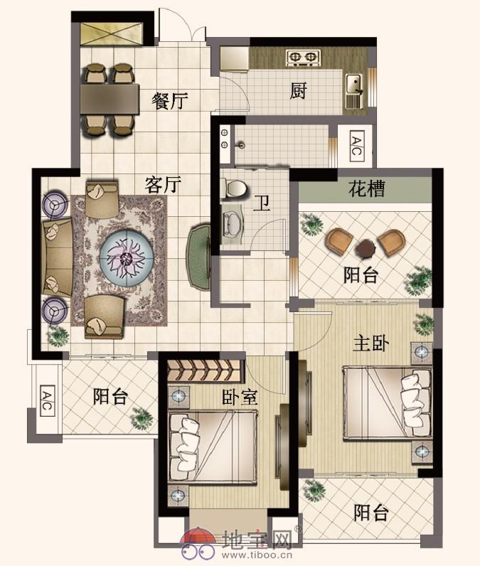 经典4房 无需再次置换 一步到位地铁周边菜场周边_7