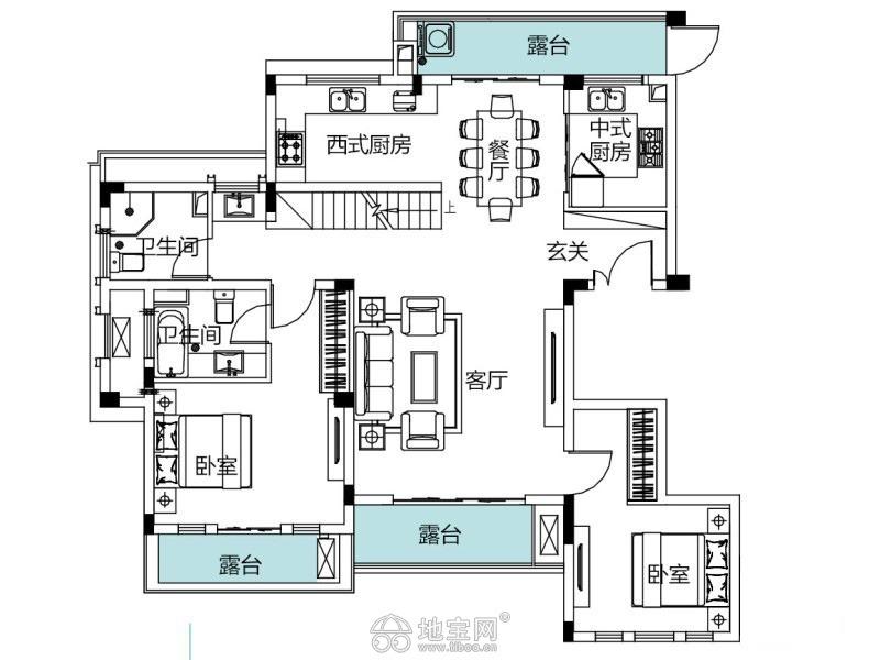 红谷滩新区莱蒙都会110平超级急卖3室2厅110_11
