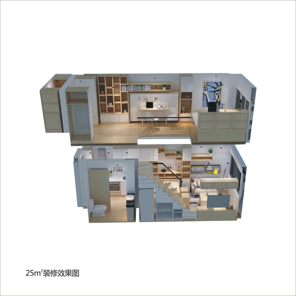 新建区九龙湖武功山大道2069号1室1厅27平米_8