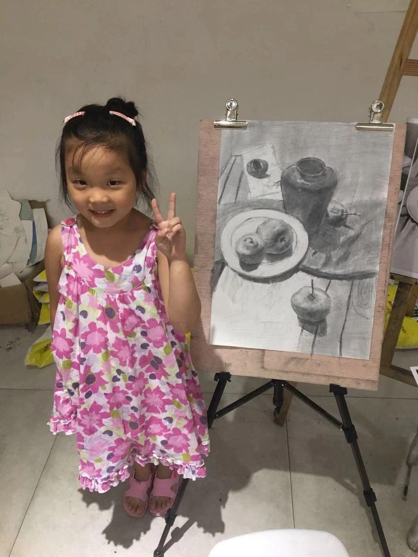 乐虎国际娱乐官网小孩专业学画画的地方百子画室_7