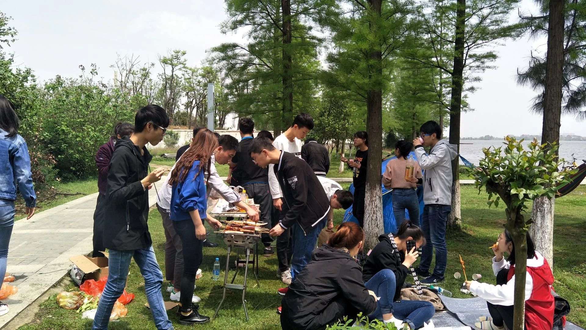 南昌瑶湖森林公园烧烤,瑶湖新烧烤区