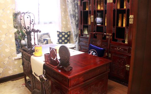 书房设计具有中国风设计